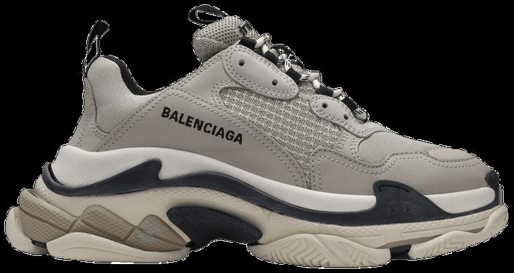 Balenciaga Wmns Triple S White Clear Sole Goat