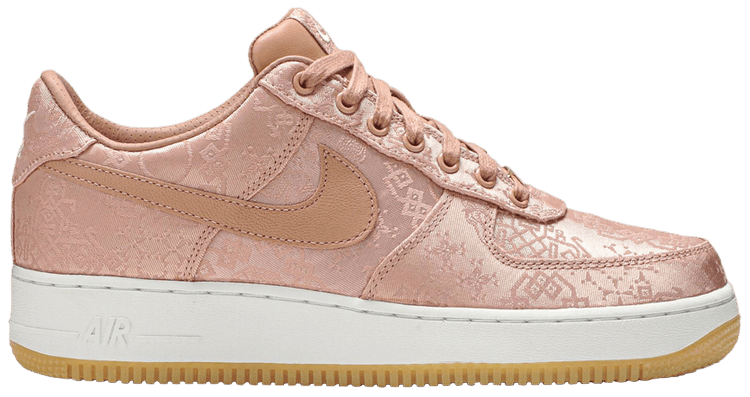 CLOT x Air Force 1 Low Premium 'Rose Gold Silk' Special Box