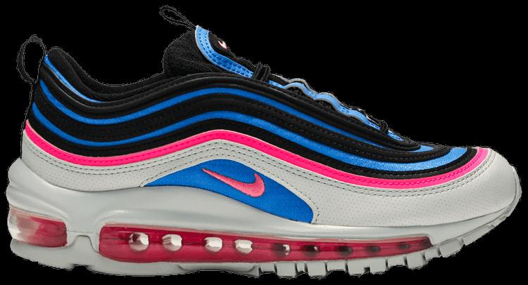 Air Max 97 Gs Platinum Blue Pink Nike 921522 012 Goat