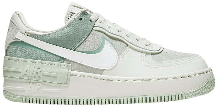Wmns Air Force 1 Shadow Spruce Aura Nike Cw2655 001 Goat