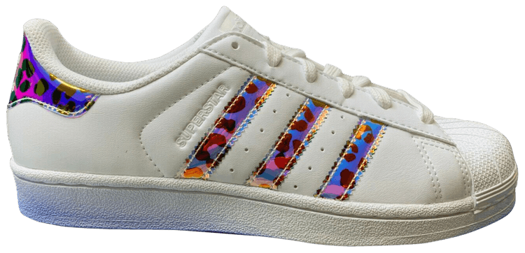 adidas superstar j iridescent