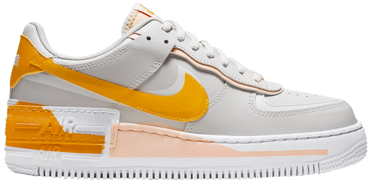 Wmns Air Force 1 Shadow Washed Coral Nike Cq9503 001 Goat