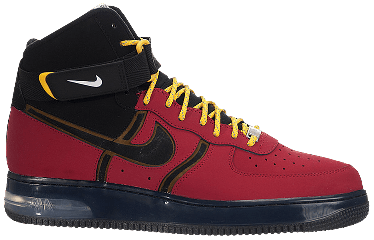Air Force 1 High Supreme Bakin' 'University Red' - Nike ...