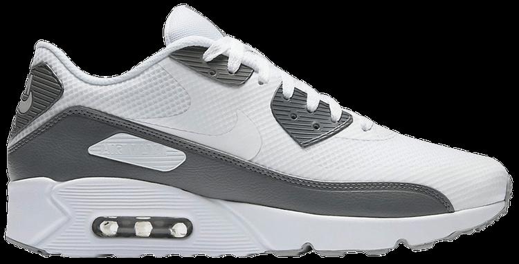 Air Max 90 Ultra 2.0 Essential 'White Cool Grey' - Nike - 875695 ...