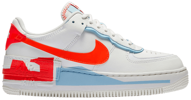 Nike Air Force 1 Blue And Orange Shop Clothing Shoes Online Nike air force 1 fire pink hydrogen blue. www jiwaji edu