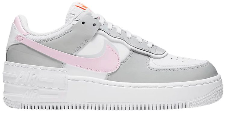 Wmns Air Force 1 Shadow Pink Foam Nike Cz0370 100 Goat