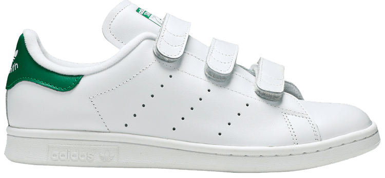 Stan Smith Primeknit J 'White Green' adidas S75351   GOAT