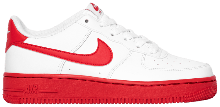 Air Force 1 Gs White Red Sole Nike Cv7663 102 Goat