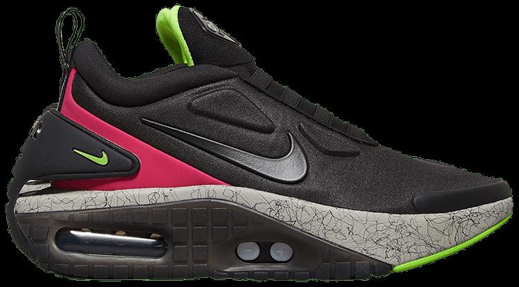Download Nike Adapt Auto Max Black Fireberry Electric Green Gif